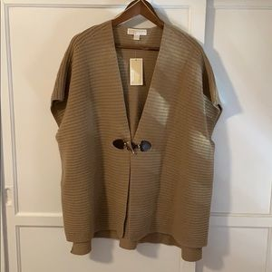 MICHAEL Michael Kors Sweaters - MK Wool and Cashmere Poncho